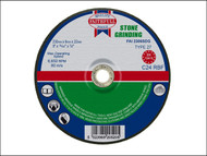 Faithfull FAI2306SDG - Grinding Disc for Stone Depressed Centre 230 x 6 x 22mm