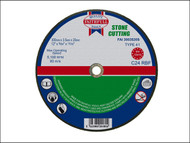 Faithfull FAI3003520S - Cut Off Disc for Stone 300 x 3.5 x 20mm