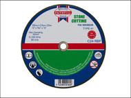 Faithfull FAI3003522S - Cut Off Disc for Stone 300 x 3.5 x 22mm