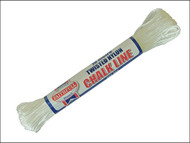 Faithfull FAI302 - 302 Twisted Nylon Chalk Line 18m (Box of 12)