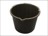 Faithfull FAI3GBUCKET - 3 Gallon 14 Litre Bucket - Black