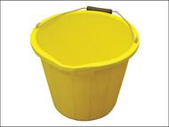 Faithfull FAI3GBUCKYEL - 3 Gallon 14 litre Bucket - Yellow