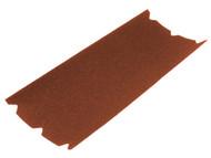 Faithfull FAIA20347524 - Aluminium Oxide Floor Sanding Sheets 203 x 475mm 24g