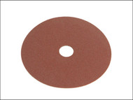 Faithfull FAIAD125120 - Resin Bonded Fibre Disc 125mm x 22mm x 120g (Pack of 25)