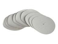 Faithfull FAIAD125A - Paper Sanding Disc 6 x 125mm Assorted (Pack of 10)