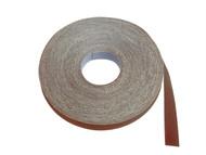 Faithfull FAIAECR25212 - Emery Cloth Roll 50m x 25mm Grade 2 1/2