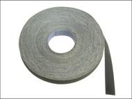 Faithfull FAIAECR25FF - Emery Cloth Roll 50m x 25mm Grade FF