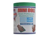 Faithfull FAIAR10120G - Aluminium Oxide Paper Roll Green 115 mm x 10m 120g