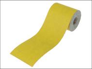 Faithfull FAIAR11540Y - Aluminium Oxide Paper Roll Yellow 115mm x 50m 40g