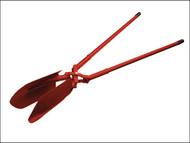 Faithfull FAIASPHDSA - All Steel Post Hole Digger (Scissor Action) 1350mm (54in)