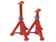 Faithfull FAIAUAXLE2 - Folding Axle Stands 2 Tonnes (Pair)