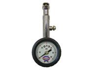 Faithfull FAIAUPGAUGE - Tyre Pressure Dial Gauge 60psi