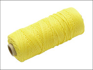 Faithfull FAIBLHVY - Hi Vis Nylon Brick Line 105m - Yellow