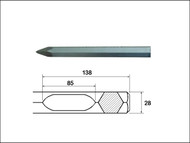 Faithfull FAIBOSP380 - Point 380mm Bosch / Hitachi Shank