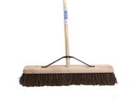 Faithfull FAIBRBAS24H - Broom Stiff Bassine 60cm (24 in) + Handle & Stay