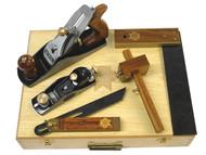 Faithfull FAICARPSET - Carpenters Tool Kit 5 Piece