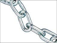 Faithfull FAICHAL525C - Zinc Plated Chain 5mm x 25m Reel - Max Load 160kg