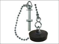 Faithfull FAICHBASINAS - Chrome Basin Chain Assembly 30cm (12in)