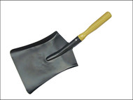 Faithfull FAICOALS9 - Coal Shovel Steel Wooden Handle 230mm