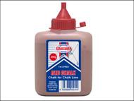 Faithfull FAICPRED - Chalk Powder 250g - Red