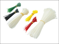 Faithfull FAICT400 - Cable Ties - Barrel Pack of 400