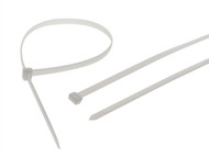 Faithfull FAICT600WHD - Heavy-Duty Cable Ties White 600mm x 9mm Pack of 10