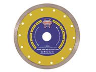 Faithfull FAIDB180CR - Diamond Tile Blade Continuous Rim 180mm x 25.4mm