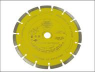 Faithfull FAIDB230LPA - Diamond Blade Yellow Series Abrasive Materials 230mm x 22.2mm