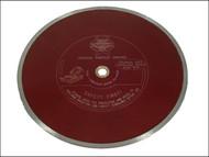 Faithfull FAIDB300CR - Diamond Tile Blade Continuous Rim 300mm x 25.4mm