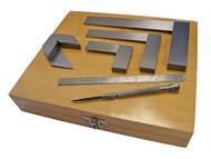 Faithfull FAIESMEASURE - Engineers Marking & Measuring Set 6 Piece