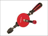 Faithfull FAIHANDDRILL - Hand Drill Double Pinion 8.5mm Capacity