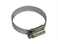Faithfull FAIHC2ASSB - 2A Stainless Steel Hose Clip 35 - 50mm