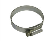 Faithfull FAIHC2B - 2 Hose Clip - Zinc MSZP 40 - 55mm