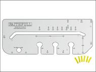 Faithfull FAIKWJMK4 - Kitchen Worktop Jig & Pegs Mk4