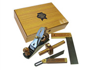 Faithfull FAIPLANEKIT - Plane & Woodworking Set of 4 Piece