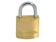 Faithfull FAIPLB20 - Brass Padlock 20mm 3 Keys