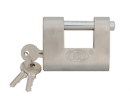 Faithfull FAIPLB80SHUT - Brass Shutter Padlock 80mm