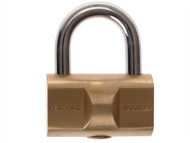Faithfull FAIPLBG32 - Goldbar Brass Padlock 32mm