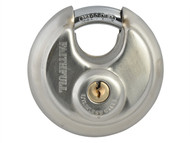 Faithfull FAIPLSS70DIS - Stainless Steel Discus Padlock 70mm