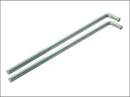 Faithfull FAIPROEXTB14 - External Building Profile - 350 mm (14 in) Bolts (Pack of 2)