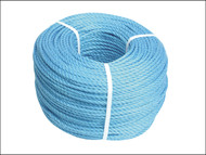 Faithfull FAIRB3080 - Blue Poly Rope 8mm x 30m