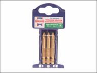 Faithfull FAISBPH2M - Phillips No.2 Titanium Screwdriver Bits x 50mm (Pack of 3)