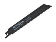 Faithfull FAISBS811H - Sabre Saw Blade Wood S811H (Pack of 5)