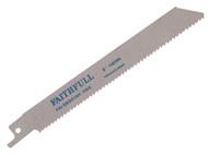 Faithfull FAISBS918H - Sabre Saw Blade Metal S918H (Pack of 5)