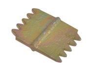 Faithfull FAISC1N - Scutch Combs 25mm (Pack 5)