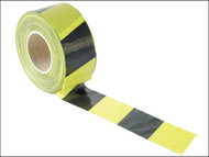 Faithfull FAITAPEBARBY - Barrier Tape 70mm x 500m Black & Yellow
