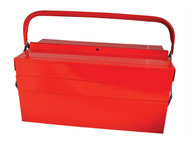 Faithfull FAITBC517 - Metal Cantilever Toolbox 40cm (16in) 5 Tray