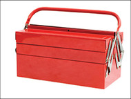 Faithfull FAITBC519 - Metal Cantilever Toolbox 49cm (19in) 5 Tray