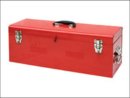 Faithfull FAITBHDC26 - Metal Heavy-Duty Toolbox & Tote Tray 67cm