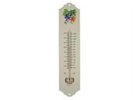 Faithfull FAITHMETAL - Thermometer Wall Enamel Metal 300mm